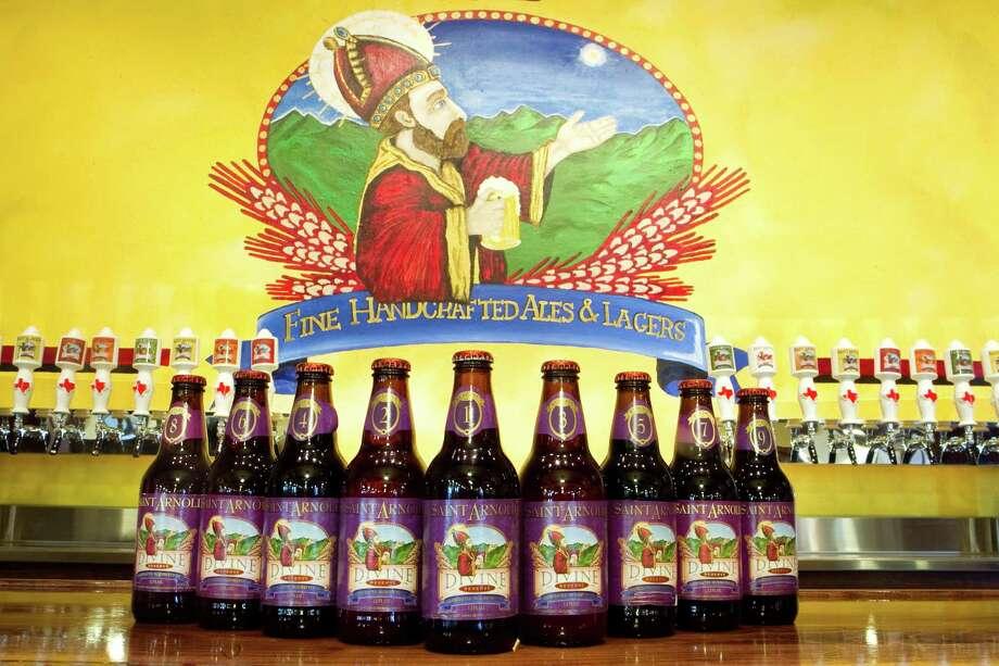 Take the St. Arnold's Brewing Company tour. Photo: Brett Coomer, Houston Chronicle / Houston Chronicle