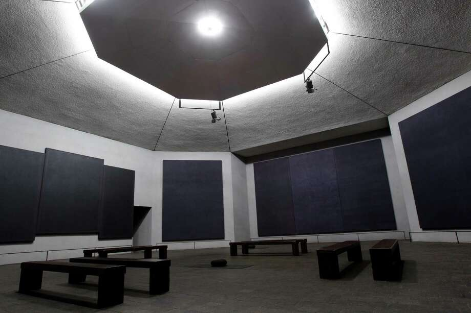 Sit in silence for an entire hour at the Rothko Chapel. Photo: Melissa Phillip, Houston Chronicle / © 2011 Houston Chronicle