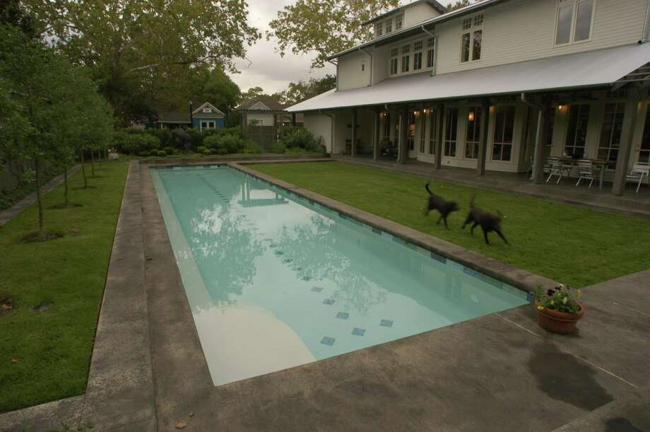 Build a pool in your backyard. Photo: E. Joseph Deering, Houston Chronicle / Houston Chronicle