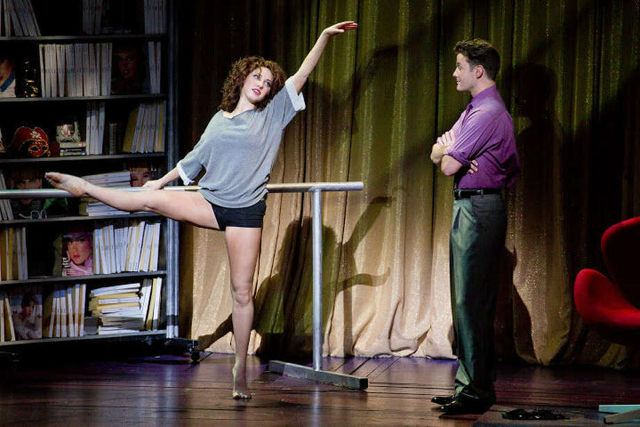 "Jillian Mueller and Matthew Hydzik appear in the touring production of ""Flashdance."" Photo: Courtesy Jeremy Daniel"