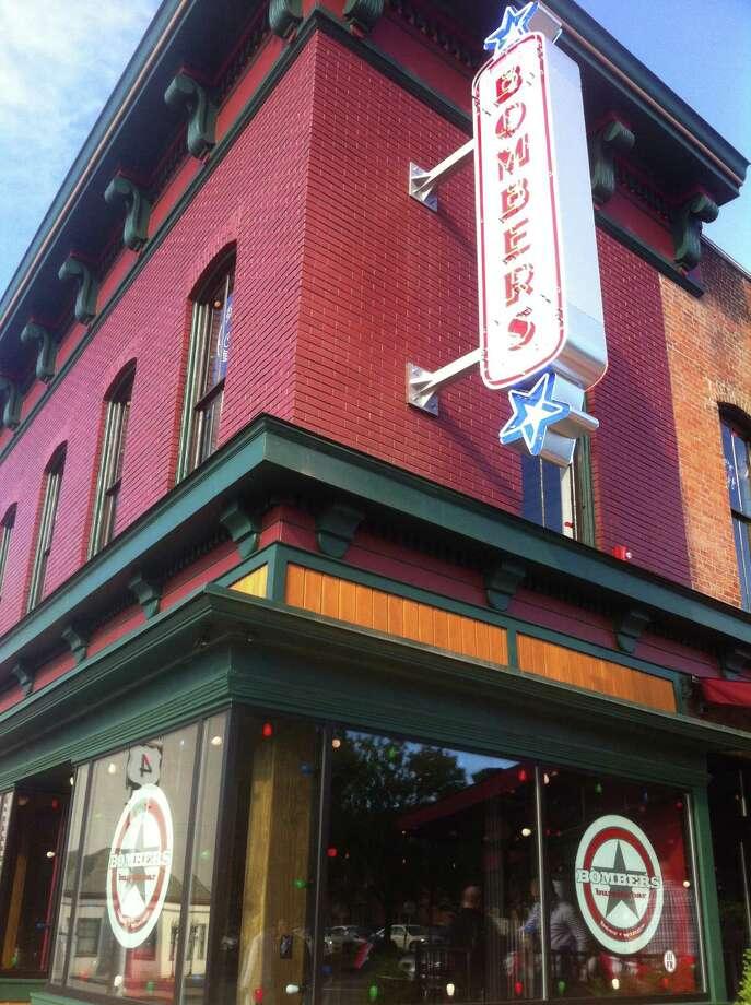 Bombers Burrito Bar. 2 King St., Troy.STEVE BARNES/TIMES UNION  The new Bombers Burrito Bar in Troy