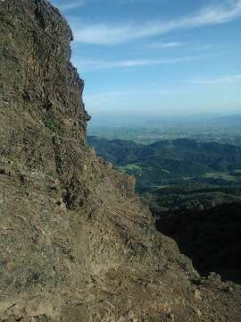 Check out the view from the peak of Mt. Diablo during a New Year's Day bike ride.