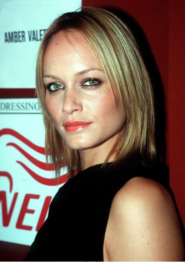 Amber Valetta in February 1999, age 25. Photo: Patrick Riviere, Getty Images / 1999 Getty Images