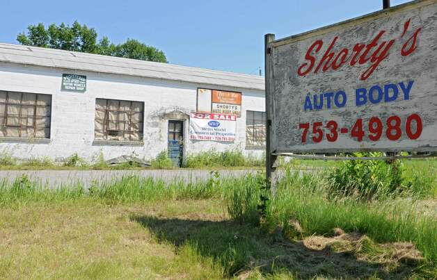 Shorty?s Auto Body shop on Rt. 40 on Wednesday, June 19, 2013 in Schaghticoke, N.Y. (Lori Van Buren / Times Union) Photo: Lori Van Buren / 00022887C