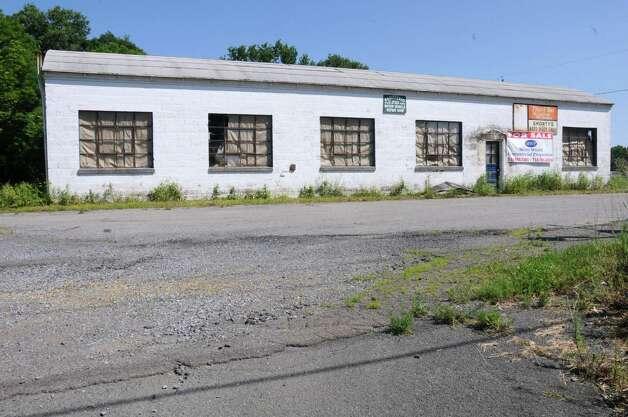 Shorty?s Auto Body shop on Rt. 40 on Wednesday, June 19, 2013 in Schaghticoke, N.Y. (Lori Van Buren / Times Union) Photo: Lori Van Buren / 00022887C