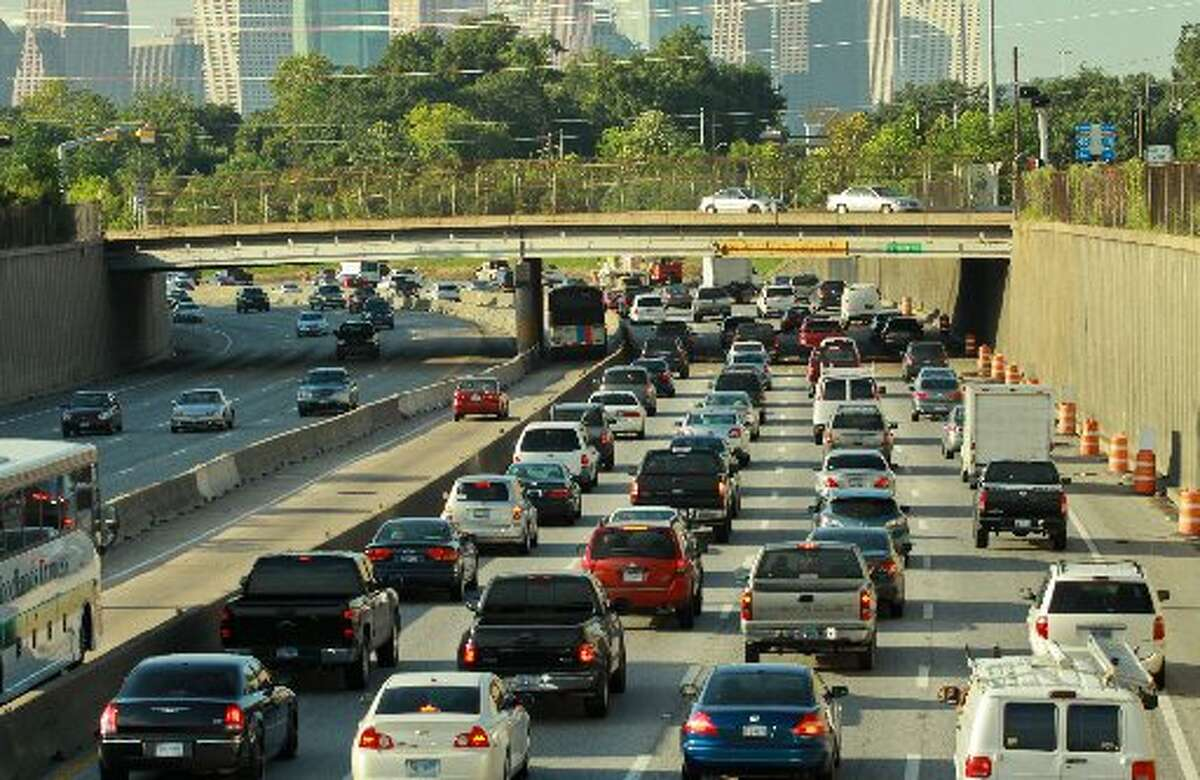 Traffic. Houston traffic rivals Los Angeles as the worst.