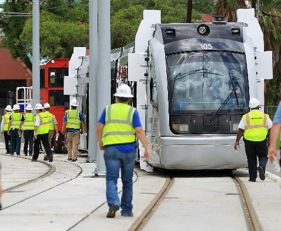 Our public transportation system. Or lack of. ... Photo: Karen Warren, Houston Chronicle