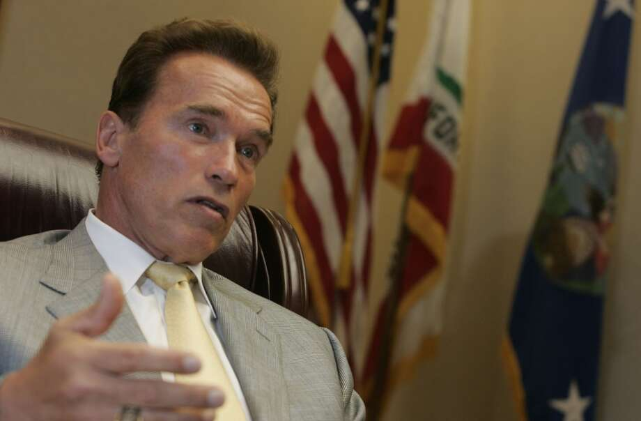Sept. 29, 2005:Gov. Arnold Schwarzenegger vetoes a bill to give same-sex couples the right to marry.