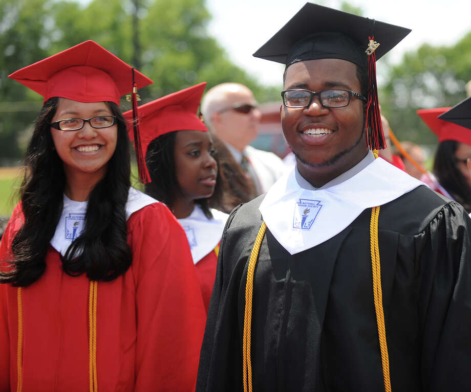 Central High School graduation at Kennedy Stadium in Bridgeport, Conn. on Wednesday, June 19, 2013. Photo: Brian A. Pounds / Connecticut Post