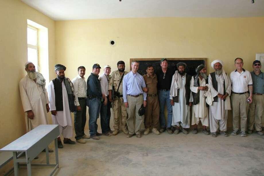 Rep. Mac Thornberry visiting troops in Afghanistan