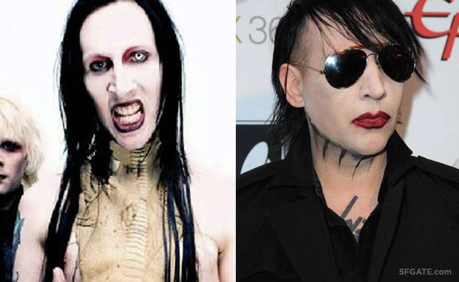 Marilyn Manson Photo: Interscope/Getty Images