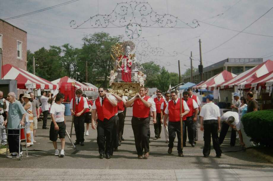 The 113th Feast of St. Andrew includes a procession around historic Wooster Square in New Haven. The event runs from Thursday, June 27, through Sunday, June 30. Photo: Contributed Photo