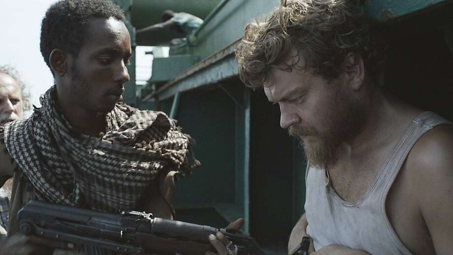 "Abdihakin Asgar and Pilou Asbaek in ""A Hijacking,"" a tense drama from Denmark. Photo: Magnolia Pictures"