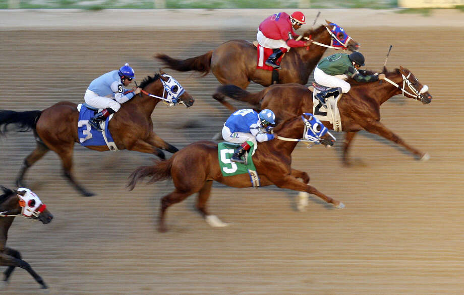"Retama Park has live quarter horse racing through Aug. 10. Concession deals on ""Fantastic Fridays."" retamapark.com"