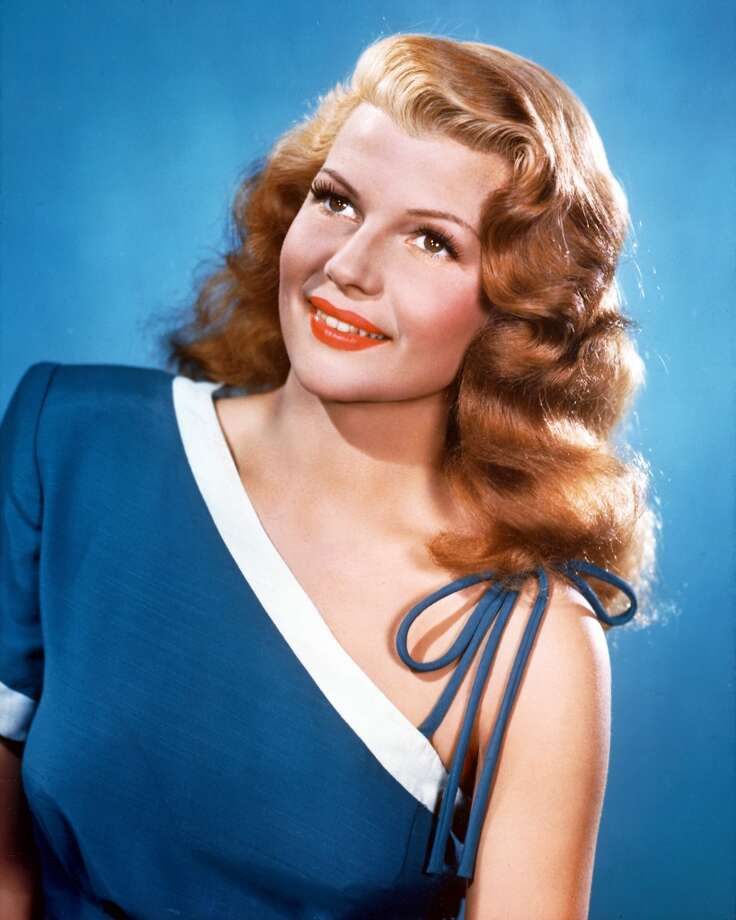 Rita Hayworth circa 1945.