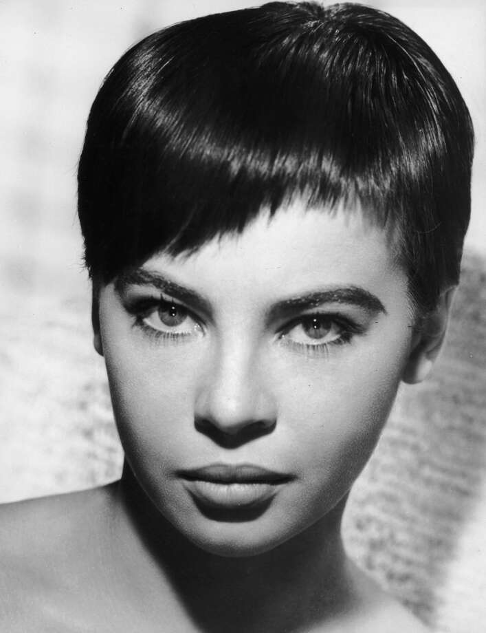 circa 1955:  Headshot portrait of French actor and dancer Leslie Caron.