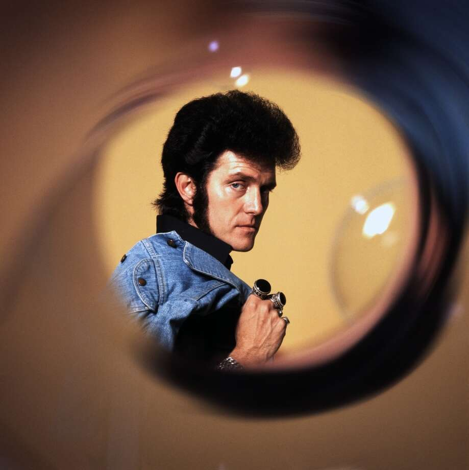 English pop singer Alvin Stardust, London, 1975.