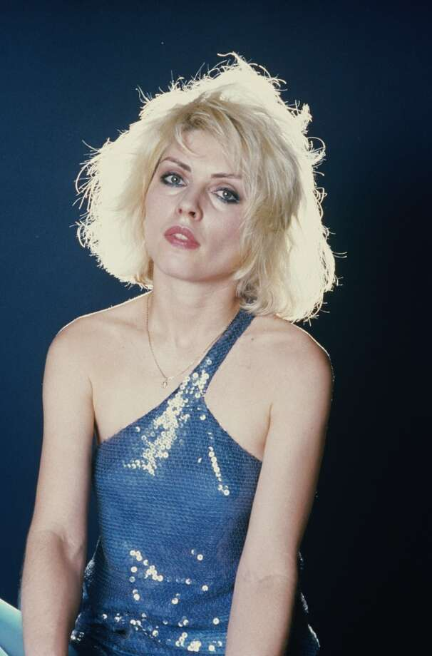Singer Debbie Harry of American punk rock band Blondie, 1979.