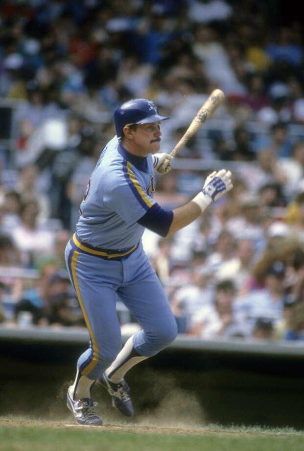 1982 Richie Zisk -- 21 home runsdesignated hitter  Next four: 20 -- Al Cowens, RF 16 -- Todd Cruz, SS 14 -- Dave Henderson, CF 12 -- Bruce Bochte, LF  Photo: Focus On Sport, Getty Images / 1982 Focus on Sport