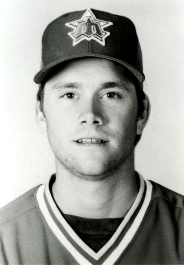 1986 Jim Presley -- 27 home runsthird baseman  Next four: 25 -- Danny Tartabull, RF 24 -- Ken Phelps, UT 18 -- Alvin Davis, 1B 14 -- Dave Henderson, UT  Photo: B Bennett, Getty Images / 1984 B Bennett