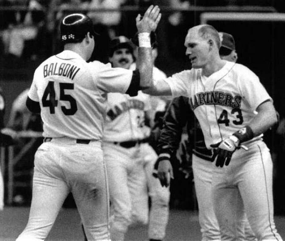 1988 Steve Balboni -- 21 home runs utility player  Next four: 18 -- Alvin Davis, 1B 15 -- Mickey Brantley, LF 14 -- Ken Phelps, DH 14 -- Jim Presley, 3B