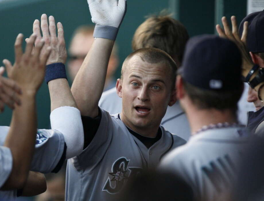 2012 Kyle Seager -- 20 home runs third baseman  Next five: 19 -- Michael Saunders, CF 19 -- Justin Smoak, 1B 15 -- Jesus Montero, DH 12 -- Dustin Ackley, 2B 12 -- Miguel Olivo, C  Photo: Ed Zurga, Getty Images / 2012 Getty Images