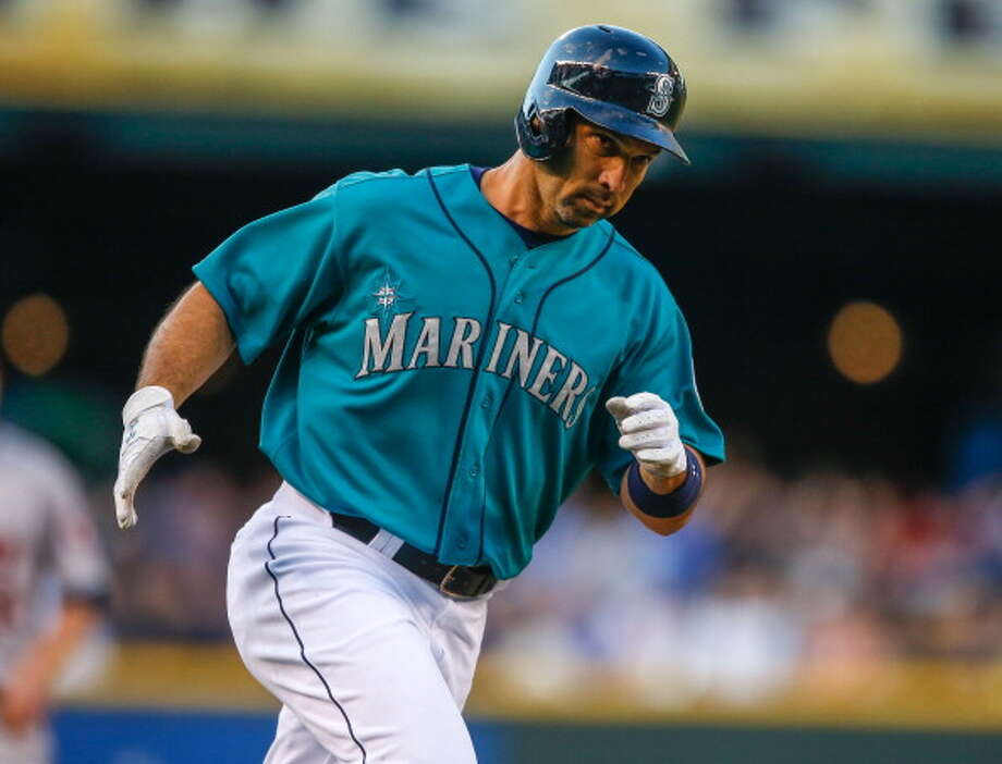 2013 Raul Ibañez -- 14 home runs outfielder  The 41-year-old has 14 dingers through the Mariners' 72 games this season -- on pace for 31 this year.  Next four: 11 -- Michael Morse, RF 8 -- Jason Bay, OF 8 -- Kendrys Morales, DH 8 -- Kyle Seager, 3B  Photo: Otto Greule Jr, Getty Images / 2013 Otto Greule Jr