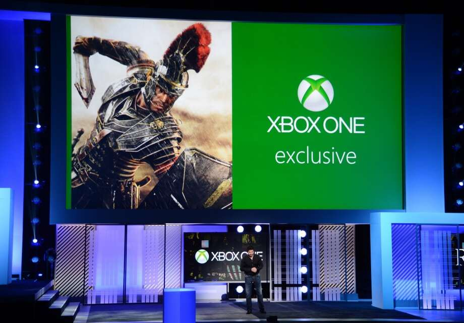 "Cevat Yerli, President and CEO of Crytek, discusses the Crytek game ""Ryse: Son of Rome"" which will be released exclusively for XBox One, at the Microsoft Xbox E3 2013 Media Briefing in Los Angeles on June 10, 2013. The press conference precedes the Electronic Entertainment Expo (E3) which takes place in Los Angeles June 11-13."