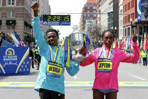 2013 Boston Marathon winner Lelisa Desisa is donating his medal to the city of Boston.