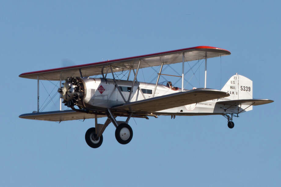 A Boeing Model 40C is shown in this photo courtesy of the Historic Flight Foundation. Photo: Liz Matzelle / Courtesy photo