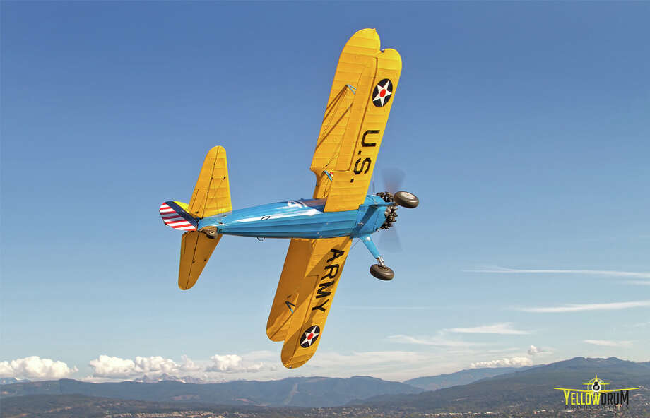 A HFM Stearman is shown in this photo provided by the Historic Flight Foundation. Photo: Mike Luedey / Courtesy photo