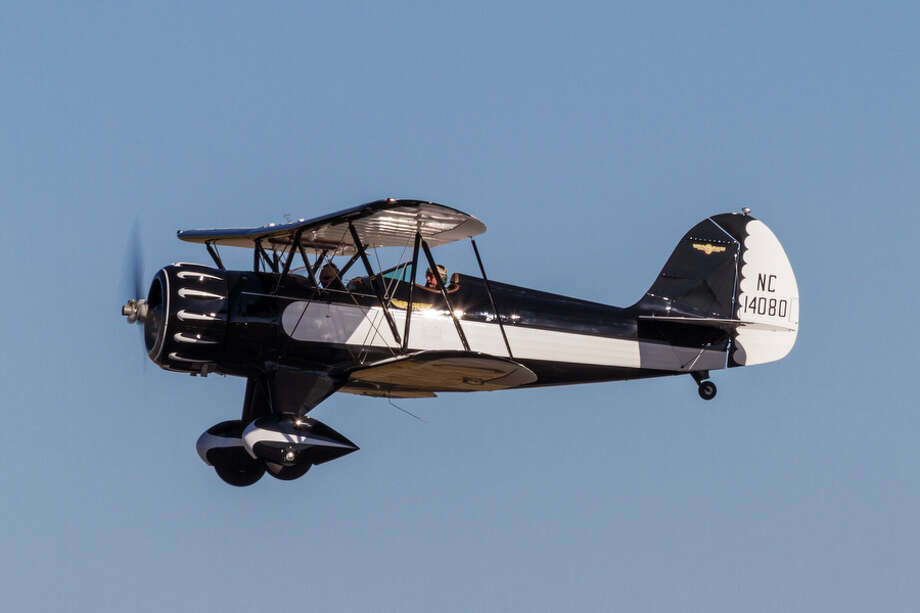 A Waco YMF-3 is shown in this photo provided by the Historic Flight Foundation. Photo: Liz Matzelle / Courtesy photo