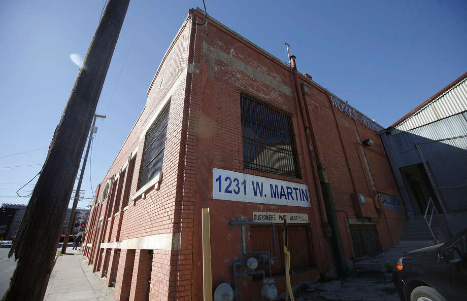 Haven for Hope plans to upgrade the former warehouse at 1231 W. Martin St. to accommodate various programs. Photo: San Antonio Express-News File Photo