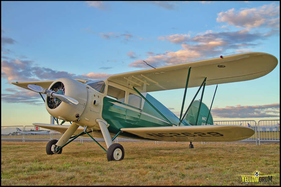 A Waco ZKS-7 is shown in this photo provided by the Historic Flight Foundation. Photo: Mike Luedey / Courtesy photo