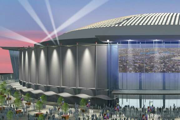 A rendering of the renovated Astrodome for the Dome Public Purpose Recommendation. The Dome's fate hinges on a $217 million bond package on the ballot.