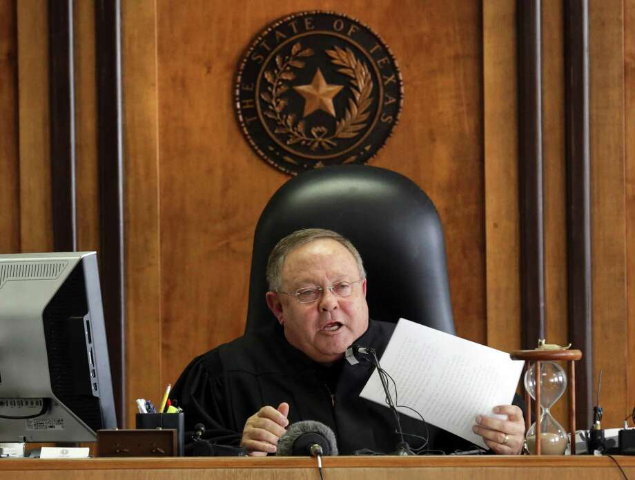 In February, state District Judge John Dietz called Texas' school finance system unconstitutional. Photo: San Antonio Express-News / File Photo