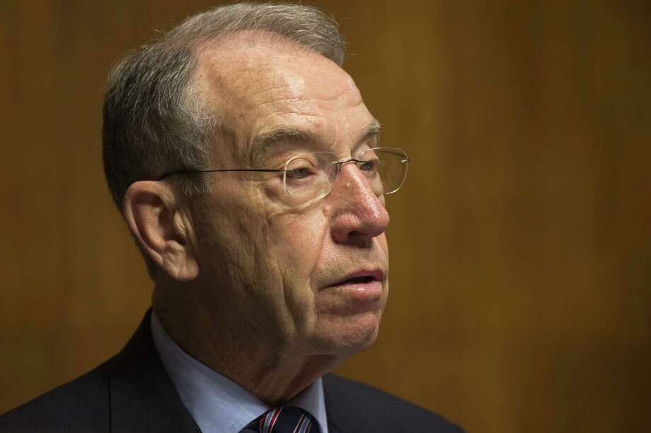 """Sen. Chuck Grassley, R-Iowa, says the IRS """"appears to be making an extra effort to give the bonuses."""" Photo: Jacquelyn Martin / Associated Press"""