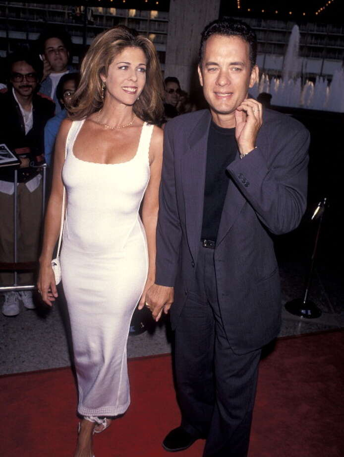 "29 - The movie tours – ""Sleepless in Seattle"" and ""Singles"" – take you to the best corners of the city.  Here, actress Rita Wilson and Tom Hanks attend the ""Sleepless in Seattle"" Century City premiere in 1993. Photo: Ron Galella, Ltd., WireImage / 1993 Ron Galella, Ltd."