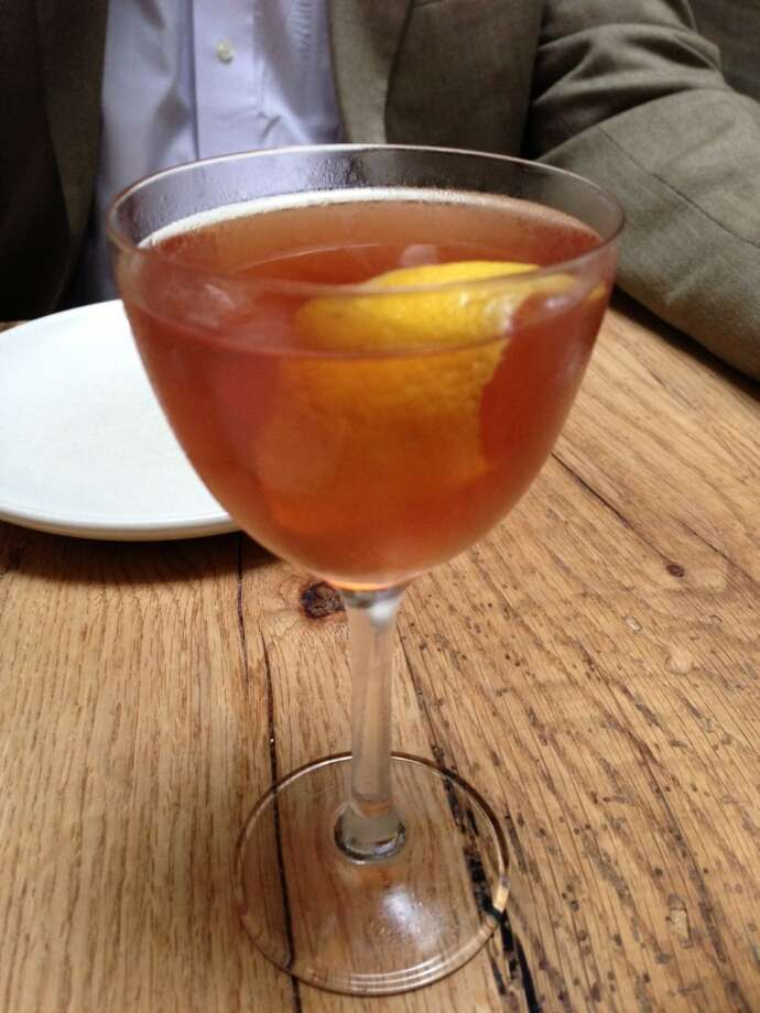 Hanky Panky ($11) with gin vermouth, Fernet and orange zest