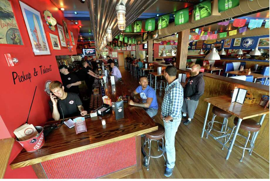 Bombers Burrito Bar. 2 King St., Troy.Bombers Burrito's opened it's new location June 19, 2013, in Troy, N.Y.       (Skip Dickstein/Times Union) Photo: SKIP DICKSTEIN / 10022878A