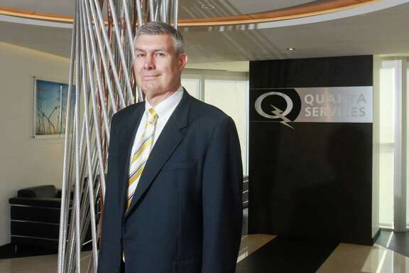 (For the Chronicle/Gary Fountain, June 3, 2013) James F. O'Neil, CEO of Quanta Services.