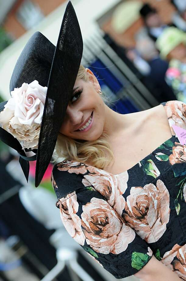 English singer Pixie Lott attends Ladies Day on Day 3 of Royal Ascot at Ascot Racecourse on June 20, 2013. Photo: Eamonn M. McCormack, Getty Images