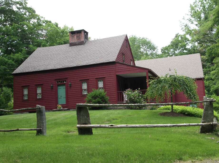 The Zoar Road home of Nancy Taylor and Mark Fries is among the seven properties featured in the 17th Annual Newtown Historical Society House & Garden Tour, set for Saturday, June 29. Photo: Contributed Photo
