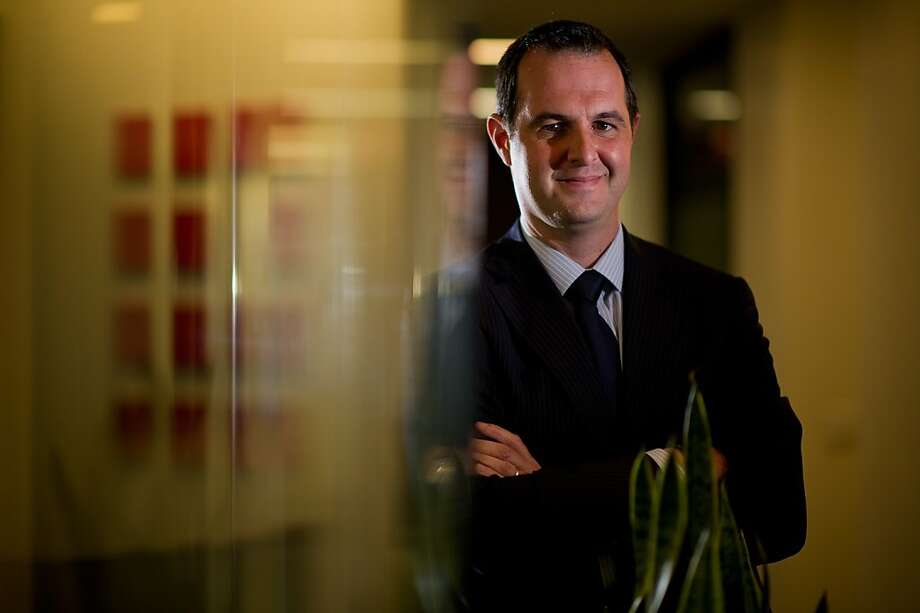 Renaud Laplanche is the co-founder and CEO of the fast-growing online bank Lending Club. Photo: David Paul Morris, Bloomberg