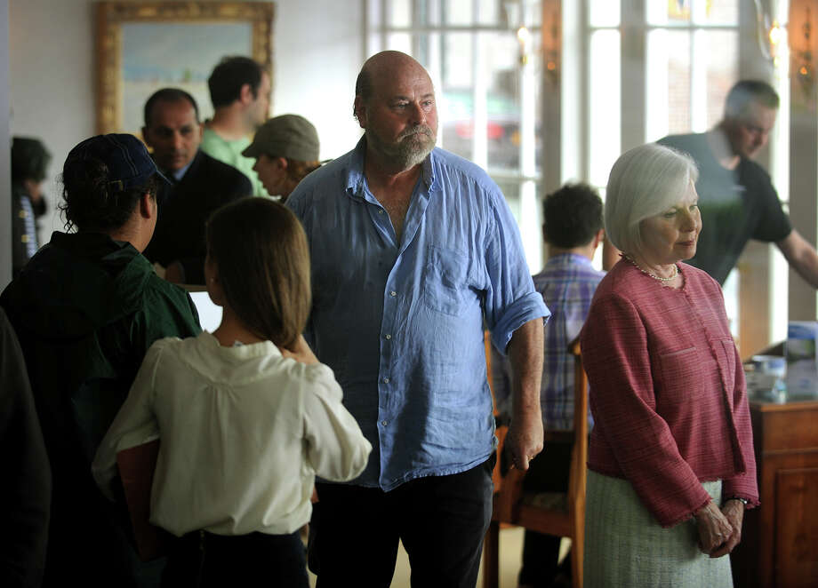 "Hollywood director Rob Reiner shoots a scene for his latest movie, ""And So It Goes"", starring Michael Douglas and Diane Keaton, at Nicholas H. Fingelly Real Estate in the Southport section of Fairfield, Conn. on Thursday, June 13, 2013. Photo: Brian A. Pounds / Connecticut Post"