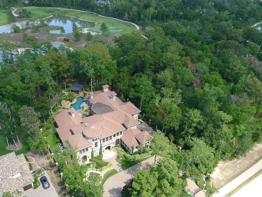 An aerial view of the stunning estate. Photo: HAR