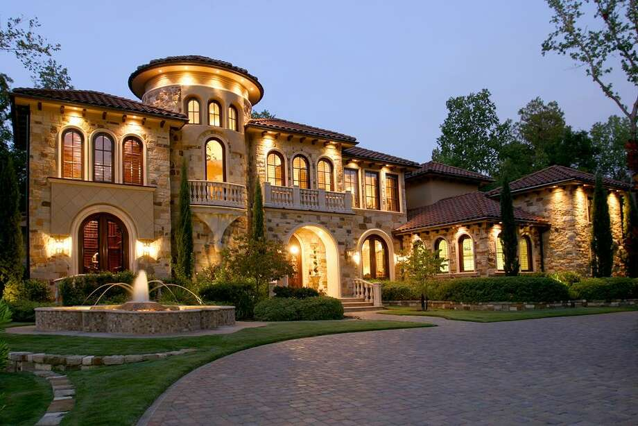 A view of the home at night. Photo: HAR