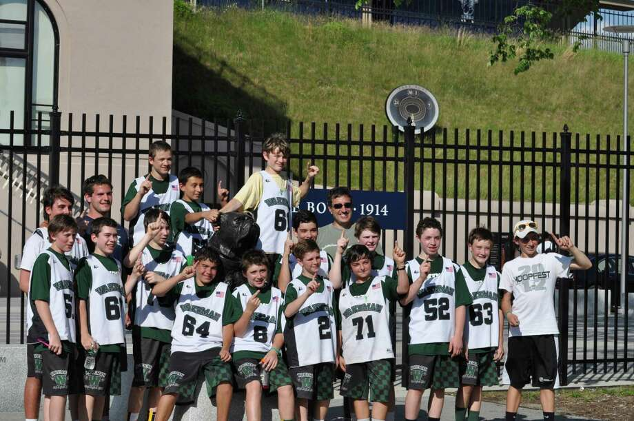 Wakeman Boys and Girls Club's 7B travel lacrosse team won the Super 7 division of the annual CONNY tournament held on June 16 at Yale University. Photo: Contributed Photo