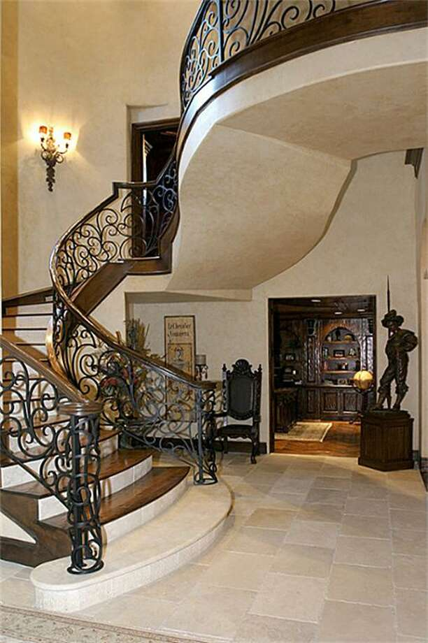 A view of the winding stairway. Photo: HAR