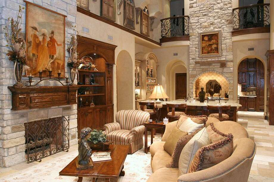 A view of the home's family room.  Photo: HAR